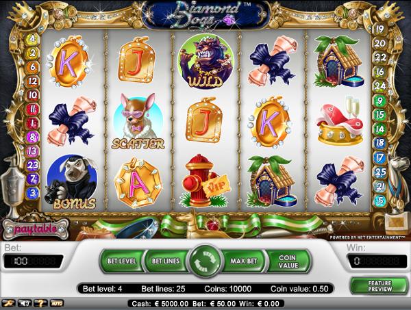 Игровой автомат Diamond Dogs - роскошная жизнь не за горами