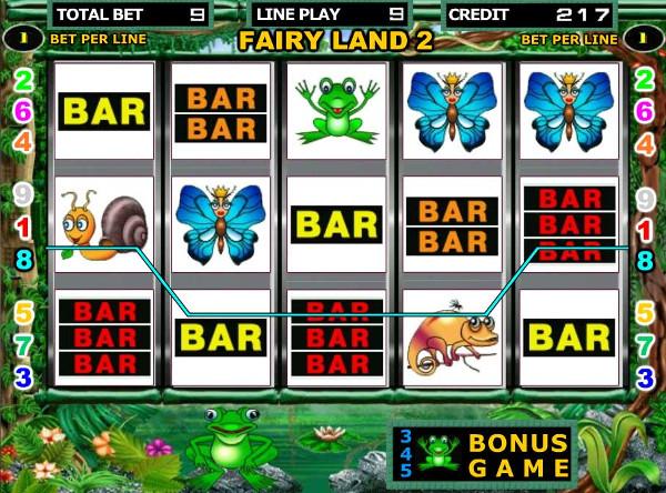 Игровой автомат Fairy Land - попади в Волшебную Страну