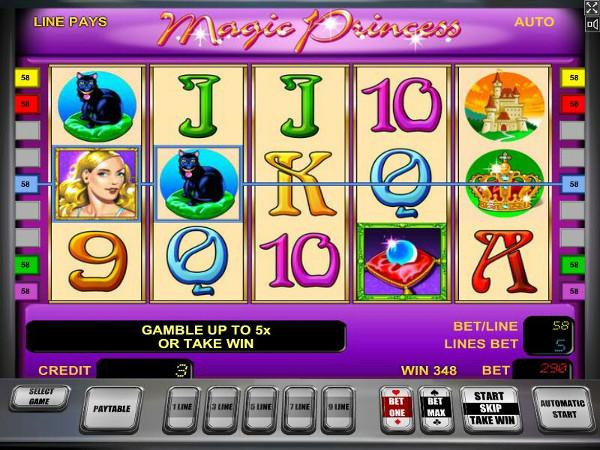 Игровой автомат Magic Princess - магия и большие деньги
