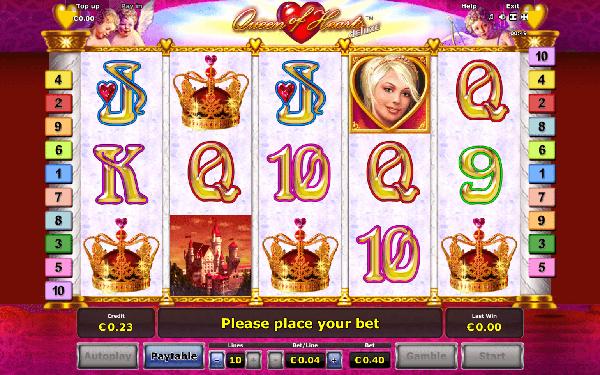 Игровой автомат Queen of Hearts - завоюй сердце королевы