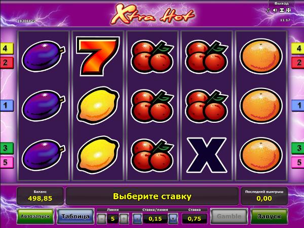 Игровой автомат Xtra Hot - незабываемые выигрыши для игроков казино Вулкан